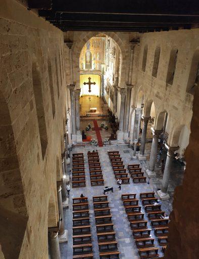 cattedrale cefalu di notte 1