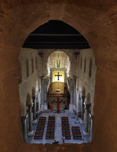 cattedrale cefalu di notte 2