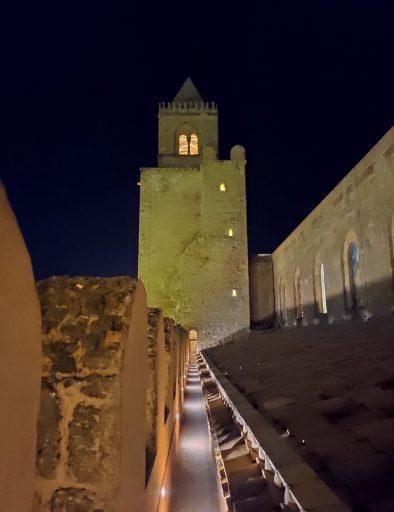 cattedrale cefalu di notte 7