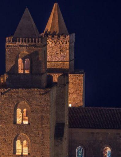 Torri Cattedrale di Cefalù - Visita Notturna
